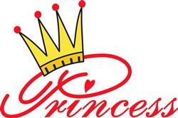Princess with Crown print art