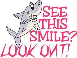 Shark Smile print art