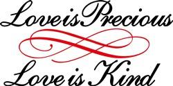 Love is Precious print art
