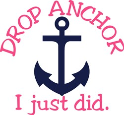 Drop Anchor print art