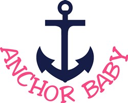 Anchor Baby print art
