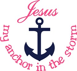 Jesus My Anchor print art