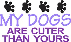Dogs Are Cuter print art