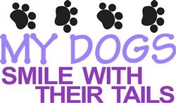 Dogs Smile print art