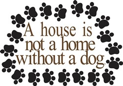 Without a Dog print art
