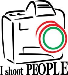 I Shoot People print art
