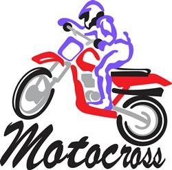 Motocross print art