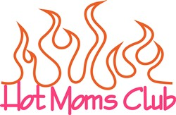 Hot Moms Club print art