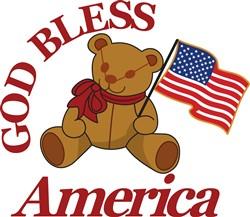 God Bless America print art