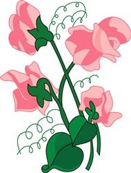Sweet peas print art