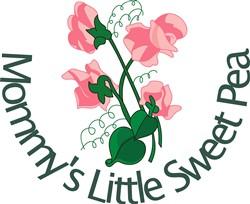 Mommys Little Sweet Pea print art