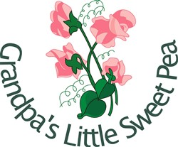 Grandpas Little Sweet Pea print art