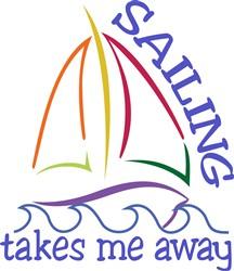 Sailing Takes Me Away print art