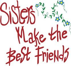 Sisters Best Friends print art
