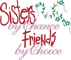 Sisters by Chance print art