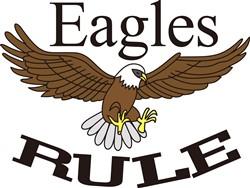 Eagles Rule print art