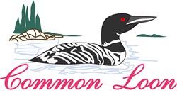 Common Loon print art