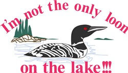 Loon on the Lake print art