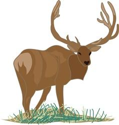 Elk print art