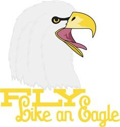 Fly Like an Eagle print art