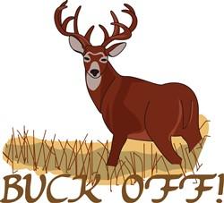Buck Off! print art