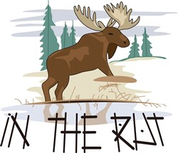 In the Rut print art