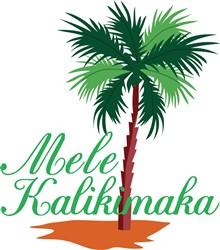 Mele Kalikimaka print art