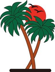 Palm Trees print art