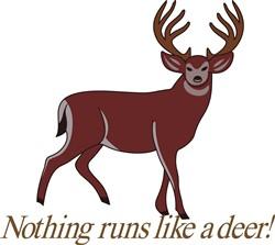 Nothing Runs like a Deer print art