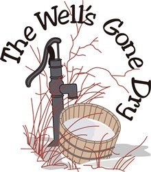 The Wells Run Dry print art