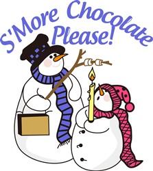 SMore Chocolate Please print art