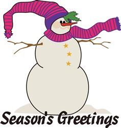 Seasons Greetings print art