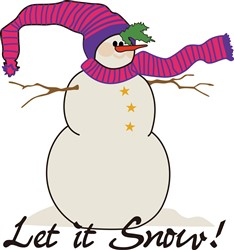 Let It Snow! print art