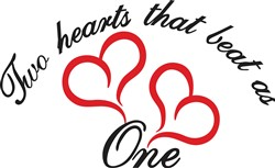 Two Hearts That Beat as One print art