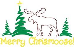 Merry Chrismoose print art