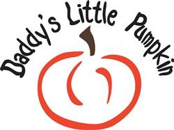 Daddys Little Pumpkin print art