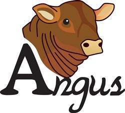 Angus print art