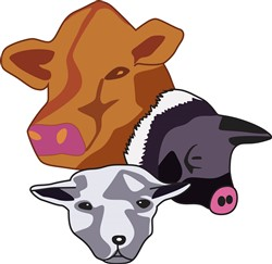 Farm Animals print art