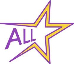 All Star print art