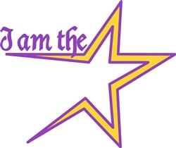 I am the Star print art