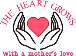 The Heart Grows/Mother print art