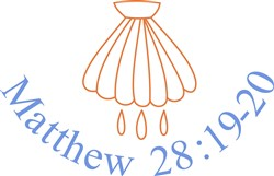 Matthew 28:19-20 print art