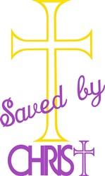 Saved by Christ print art