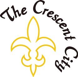 Crescent City print art