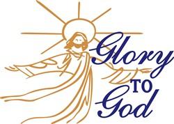 Glory To God print art