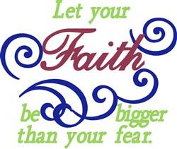 Bigger Faith print art