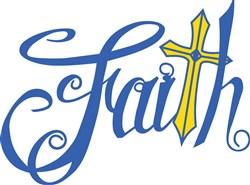 Faith print art