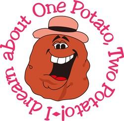 One Potato Two Potato print art