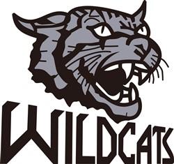 Wildcats print art