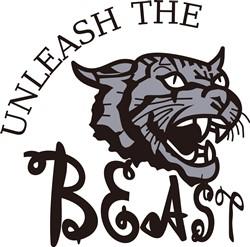 Unleash the Beast print art